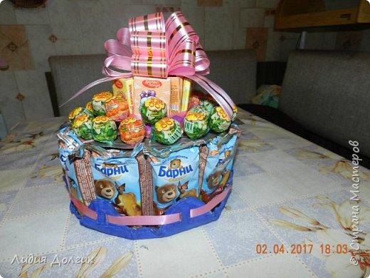 В день рождения принято угощать своих друзей в садике. Обычно каждому даётся кулёчек конфет. В этом году решили немного разнообразить процесс ( добавить праздника ). фото 1