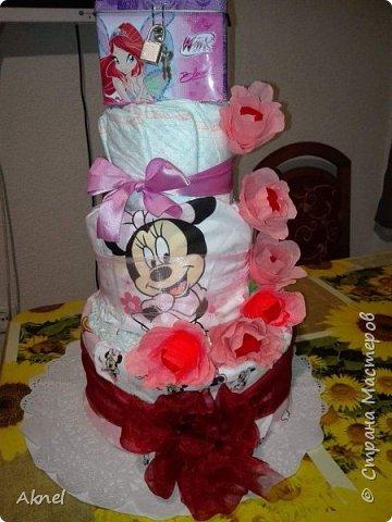Торт из памперсов. фото 3