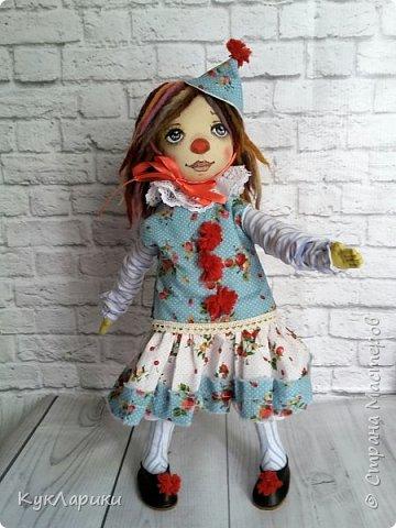 Всем Привет! А я решила весь июль шить текстильных кукол. Интересно попробовать себя в этом направлении. фото 2