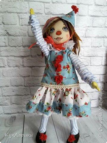 Всем Привет! А я решила весь июль шить текстильных кукол. Интересно попробовать себя в этом направлении. фото 3