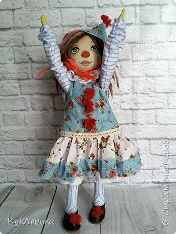 Всем Привет! А я решила весь июль шить текстильных кукол. Интересно попробовать себя в этом направлении. фото 4