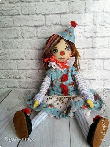 Всем Привет! А я решила весь июль шить текстильных кукол. Интересно попробовать себя в этом направлении. фото 5