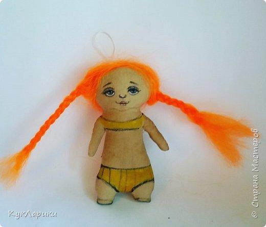 Всем Привет! А я решила весь июль шить текстильных кукол. Интересно попробовать себя в этом направлении. фото 11