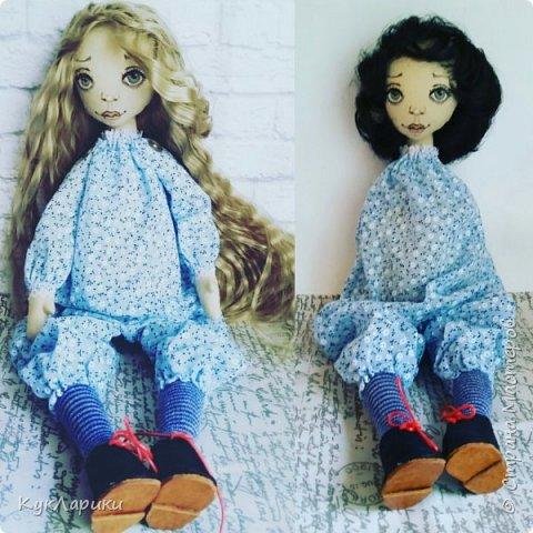 Всем Привет! А я решила весь июль шить текстильных кукол. Интересно попробовать себя в этом направлении. фото 8