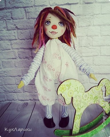 Всем Привет! А я решила весь июль шить текстильных кукол. Интересно попробовать себя в этом направлении. фото 9