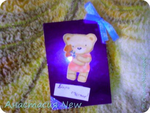 """Сегодня я сделала группу карточек АТС """"Медведики"""". фото 3"""
