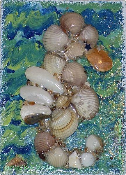 """Привем всем гостям моей странички!!!  Моя новая серия карточек в морской теме: """" Морской конёк"""". Вдохновитель моих карточек Ирина Самурайчик https://stranamasterov.ru/node/1091826?tid=656 , я увидела её морских коней и захотела повторить. Выбирает себе одну карточку Эл, одна останется дома. фото 10"""