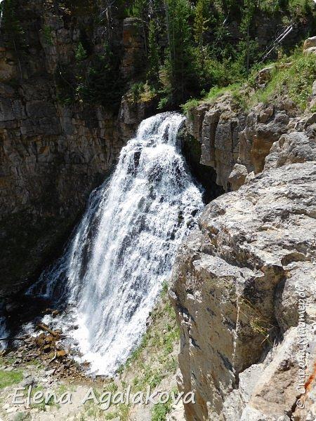Продолжаю делится впечатлениями от поездки в Йе́ллоустон (Yellowstone National Park)— международный биосферный заповедник, объект Всемирного Наследия ЮНЕСКО, первый в мире национальный парк (основан 1 марта 1872 года). Находится в США, на территории штатов Вайоминг, Монтана и Айдахо. Парк знаменит многочисленными гейзерами и другими геотермическими объектами, богатой живой природой, живописными ландшафтами. ( взято из Википедии ) Мы останавливались в кемпингах в палатках. Парк произвел на нас огромное впечатление. Очень хочется поделится с вами красотой которую я увидела. В один фоторепортаж трудно вместить все увиденное поэтому это уже четвертый и будут еще...  фото 3