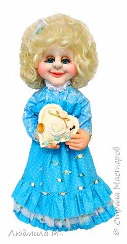 Кукла-пакетница. фото 1