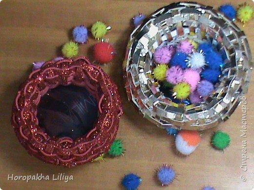 Корзиночки для композиций из цветов канзаши по просьбам подписчиков