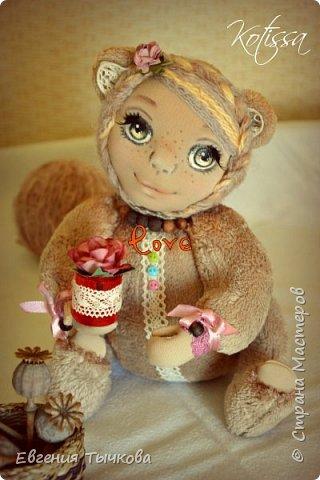 Авторская кукла в стиле тедди фото 2