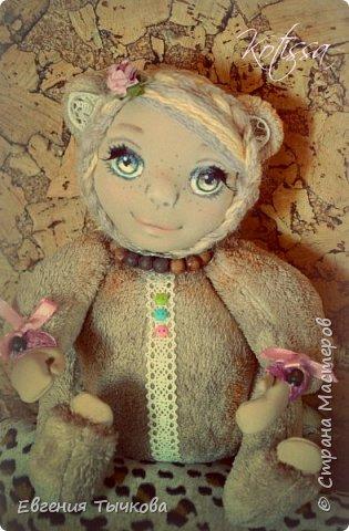 Авторская кукла в стиле тедди фото 3