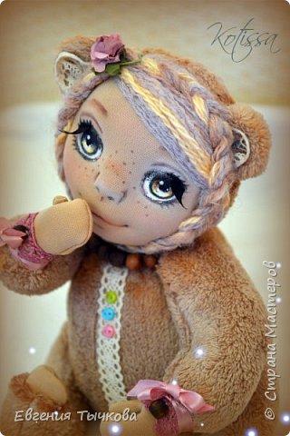 Авторская кукла в стиле тедди фото 1