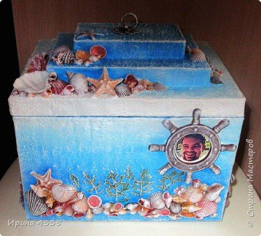 Подарочная упаковка для сладкого подарка на день рождения.  фото 1