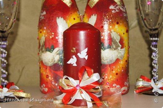 Свадебный набор для свадьбы в красном! фото 2