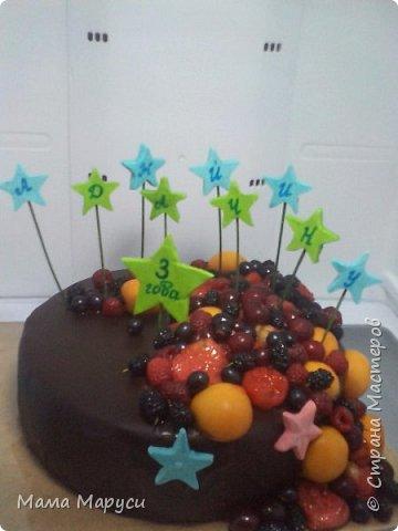 С недавних пор мое увлечение стало моей любимой работой! Мой первый заказ торт 4 кг. фото 8