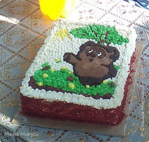 С недавних пор мое увлечение стало моей любимой работой! Мой первый заказ торт 4 кг. фото 12