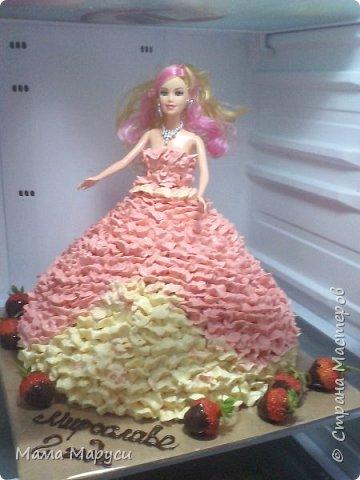 С недавних пор мое увлечение стало моей любимой работой! Мой первый заказ торт 4 кг. фото 1