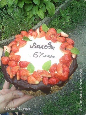 С недавних пор мое увлечение стало моей любимой работой! Мой первый заказ торт 4 кг. фото 2