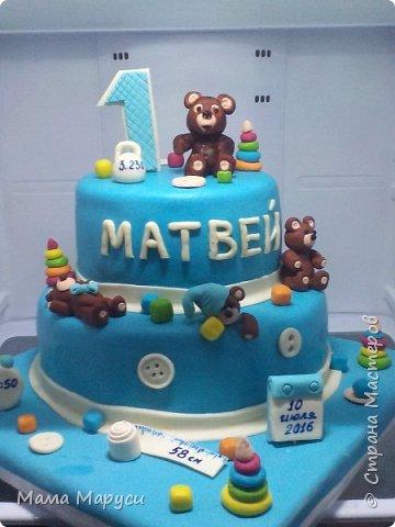 С недавних пор мое увлечение стало моей любимой работой! Мой первый заказ торт 4 кг. фото 3