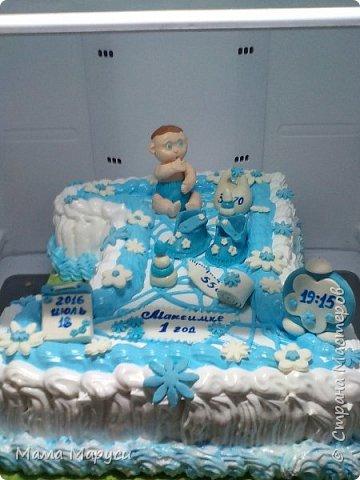 С недавних пор мое увлечение стало моей любимой работой! Мой первый заказ торт 4 кг. фото 4
