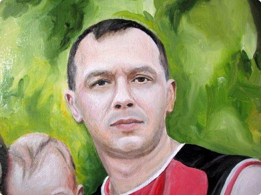 Семейный портрет. Масло, холст на подрамнике. Формат 40*50.  фото 4