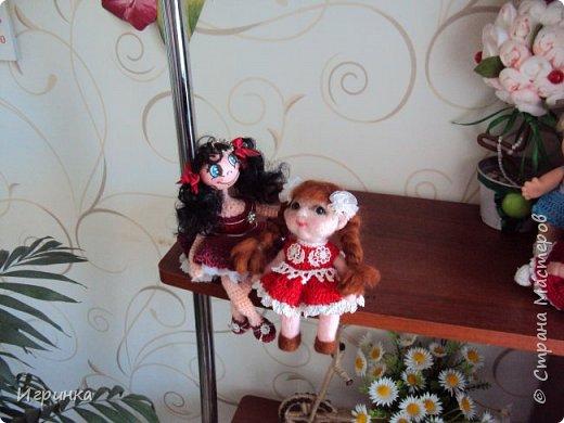 """Здравствуйте! Сегодня на улице пекло (нам не угодишь), поэтому до вечера решила скоротать день переделкой куклены, которая свалялась в начале моего """"валяльного"""" пути. фото 6"""