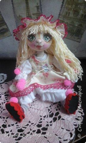 Первые попытки пошить куколок с утяжкой лица. фото 2