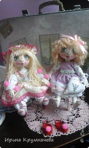 Первые попытки пошить куколок с утяжкой лица. фото 3