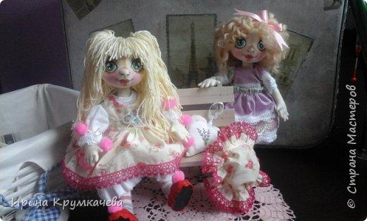 Первые попытки пошить куколок с утяжкой лица. фото 1