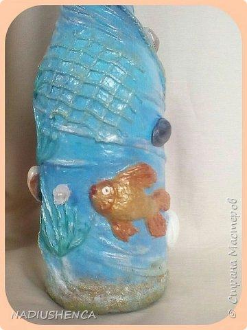 Бутылочка морская,рыбка золотая... фото 6