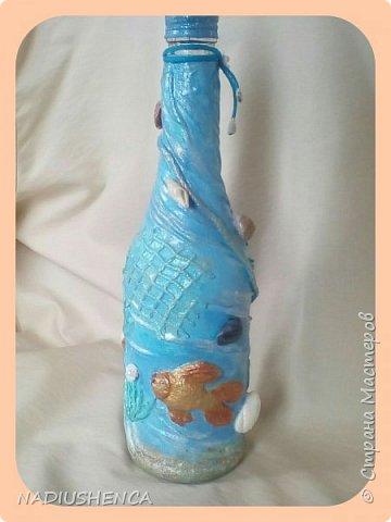 Бутылочка морская,рыбка золотая... фото 7