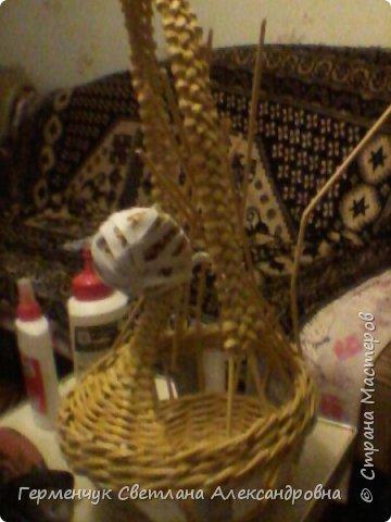 На страничке Ильиной Марины  увидела  Пасхальную курочку  И решила тоже сделать  на подарок .У меня получилось вот так . Некоторые элементы я  сделала по-своему  (, так как   только недавно  занимаюсь плетением и многого пока, к сожалению ,не знаю и не умею) фото 14