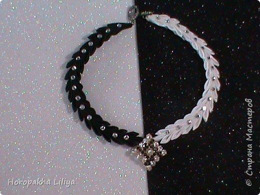 Оригинальное ожерелье ко дню 8 Марта в стиле канзаши для девочек и девушек