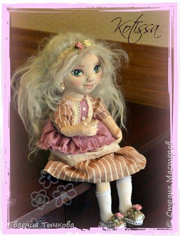 Интерьерная кукла Танюша. фото 4