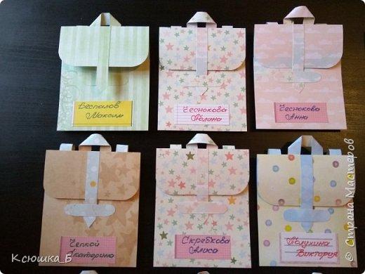 Сначала покажу свои портфельчики во всей красе, а затем небольшой МК по их созданию)  фото 3
