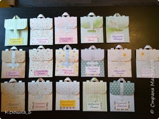 Сначала покажу свои портфельчики во всей красе, а затем небольшой МК по их созданию)  фото 1