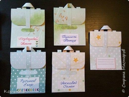 Сначала покажу свои портфельчики во всей красе, а затем небольшой МК по их созданию)  фото 4