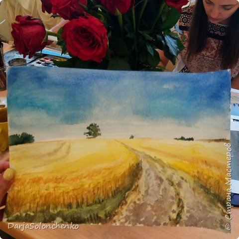 Чудные пшеничные поля. И как не любить лето?! фото 1