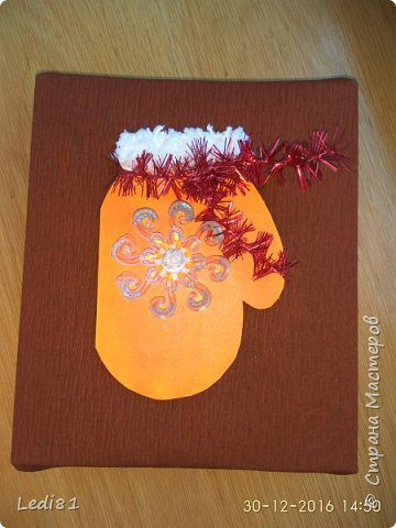 упаковка новогоднего подарка фото 1