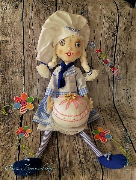 Привет всем в СМ!  Для участия в кукольном марафоне в Инстаграм по МК Светланы Хачиной сшила куклу-повара. фото 7