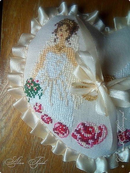 Wedding pillow фото 3