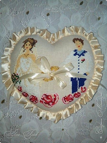 Wedding pillow фото 1