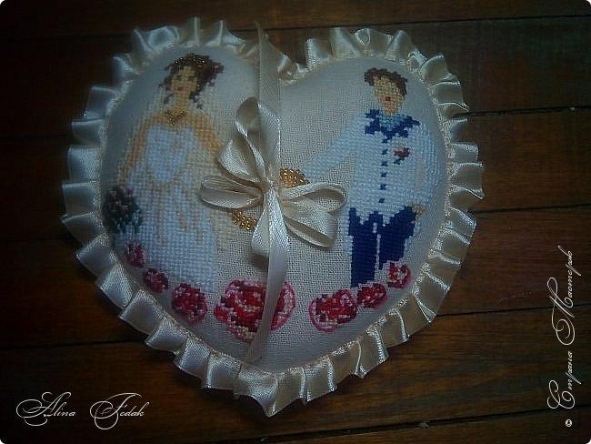 Wedding pillow фото 6