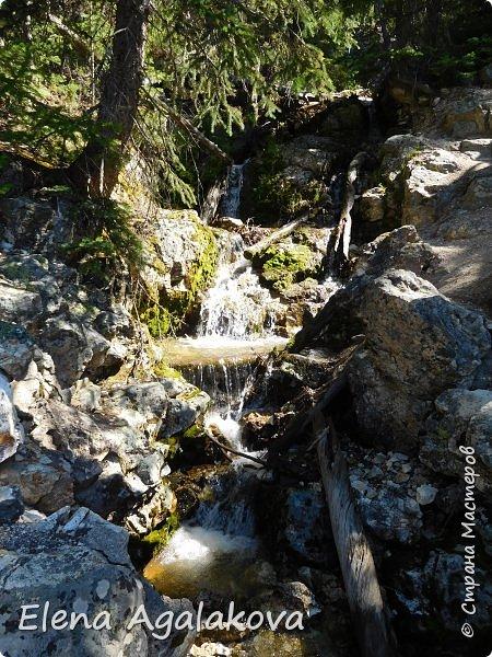 Продолжаю делится впечатлениями от поездки в Йе́ллоустон (Yellowstone National Park)— международный биосферный заповедник, объект Всемирного Наследия ЮНЕСКО, первый в мире национальный парк (основан 1 марта 1872 года). Находится в США, на территории штатов Вайоминг, Монтана и Айдахо. Парк знаменит многочисленными гейзерами и другими геотермическими объектами, богатой живой природой, живописными ландшафтами. ( взято из Википедии ) Мы останавливались в кемпингах в палатках. Парк произвел на нас огромное впечатление. Очень хочется поделится с вами красотой которую я увидела. В один фоторепортаж трудно вместить все увиденное поэтому это уже пятый и будут еще... В этот раз я покажу фото Большого каньона парка Йеллоустон.  Жалко что при загрузке фото уменьшаются и теряется качество поэтому смотрятся картинки плоско... но с этим я ничего поделать не могу. фото 11