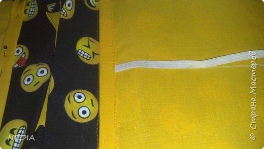 я взяла 2 ткани обычные, с размером в длину 22 см и в ширину 62 см. фото 14