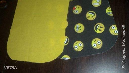 я взяла 2 ткани обычные, с размером в длину 22 см и в ширину 62 см. фото 4