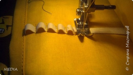 я взяла 2 ткани обычные, с размером в длину 22 см и в ширину 62 см. фото 17