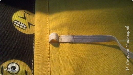 я взяла 2 ткани обычные, с размером в длину 22 см и в ширину 62 см. фото 16