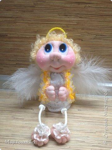 Здравствуйте,жители Страны Мастеров!!! Показываю мои новые работы. Куколки-обережки на лопатках по МК Марии Лариной. У всех куколок сделала разные глазки,поэтому они сильно отличаются друг от друга. У трёх куколок самодельные глазки,у последней - покупные. фото 6